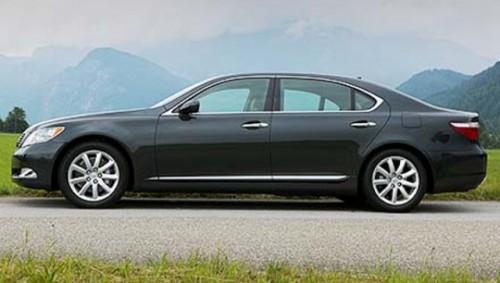 Lexus LS va avea vopsea regenerabila15960