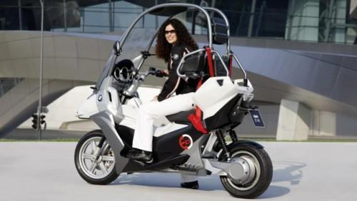 Conceptul BMW C1-E, scuterul sigur si eco15857