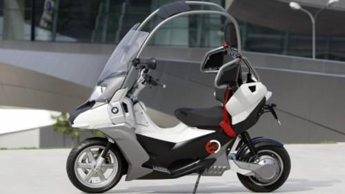 Conceptul BMW C1-E, scuterul sigur si eco15858