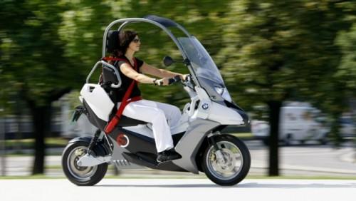 Conceptul BMW C1-E, scuterul sigur si eco15861