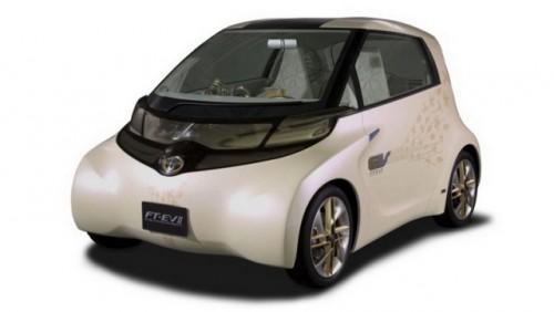 Toyota a prezentat noul iQ electric15840
