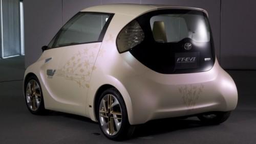 Toyota a prezentat noul iQ electric15848