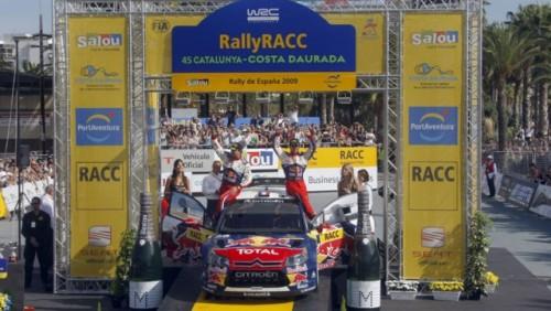 Loeb a castigat Raliul Spaniei. Titlul mondial se disputa in ultima etapa15770