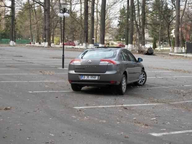 Test-drive cu Renault Laguna