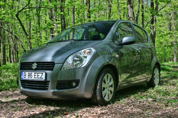 SUZUKI SPLASH 1.2 GS - drive test