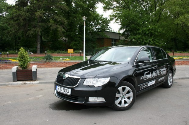 Test-drive Skoda Superb