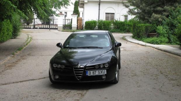 Drive-test cu Alfa Romeo 159 ti
