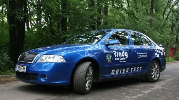 Test-drive cu Skoda Octavia RS