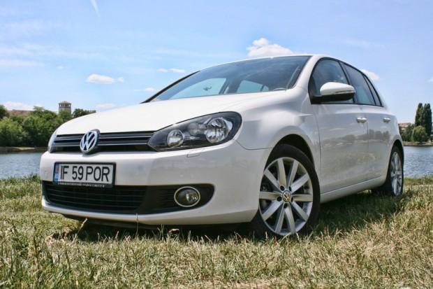 Test-drive cu noul VW Golf