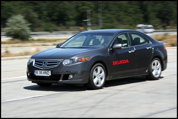 Test-drive cu Honda Accord