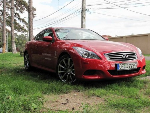 Am testat Infiniti G37 S Coupe!15579