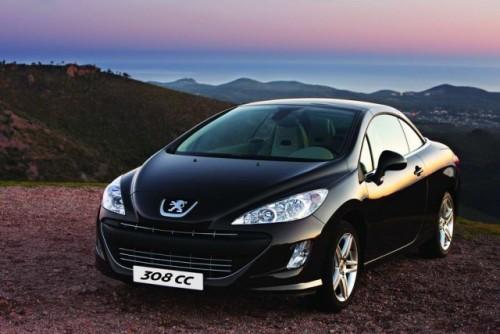 Peugeot lanseaza in Romania noile 308CC, 3008 si 206+15506
