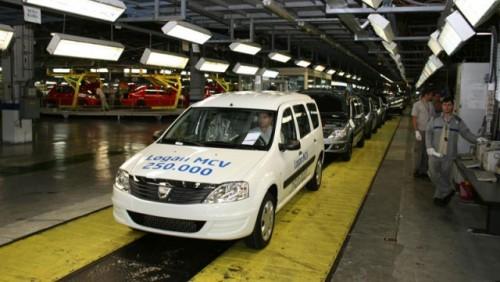 Dacia a produs Logan MCV-ul cu numarul 250.00015312