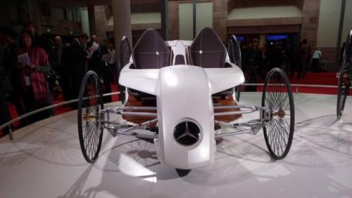 Frankfurt LIVE: Mercedes aduce un elogiu primului automobil din istorie15289