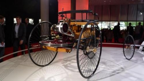 Frankfurt LIVE: Mercedes aduce un elogiu primului automobil din istorie15293