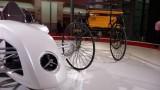 Frankfurt LIVE: Mercedes aduce un elogiu primului automobil din istorie15288