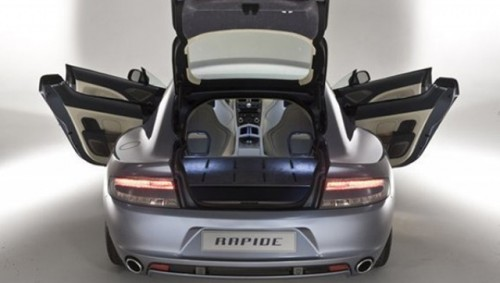 Frankfurt LIVE: Aston Martin Rapide!15069