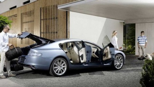 Frankfurt LIVE: Aston Martin Rapide!15075