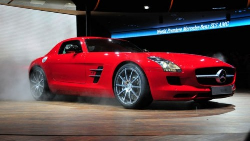 Frankfurt LIVE: Mercedes prezinta SLS AMG14843