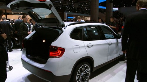 Frankfurt LIVE: BMW a prezentat noul X114792