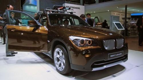 Frankfurt LIVE: BMW a prezentat noul X114793