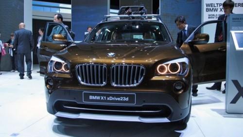 Frankfurt LIVE: BMW a prezentat noul X114794