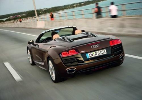 Frankfurt LIVE: Audi R8 Spyder, lansare oficiala14647