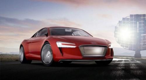 Concept electric Audi: R8 e-Tron14551