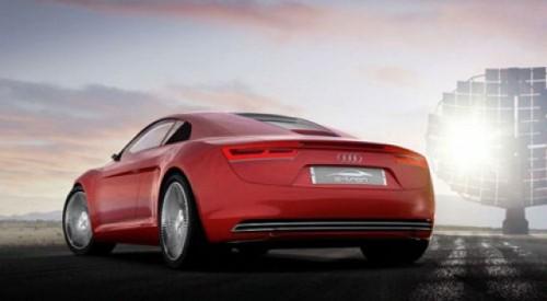 Concept electric Audi: R8 e-Tron14553