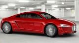 Concept electric Audi: R8 e-Tron14555