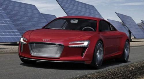 Concept electric Audi: R8 e-Tron14561