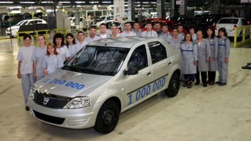 Dacia a construit 1.000.000 de vehicule din gama Logan14204