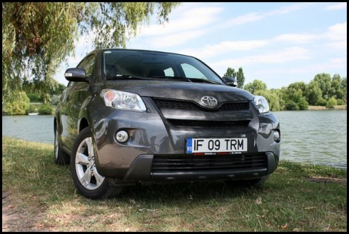 Am testat Toyota Urban Cruiser!14145