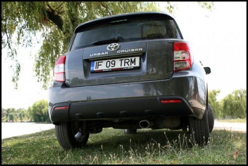 Am testat Toyota Urban Cruiser!14151