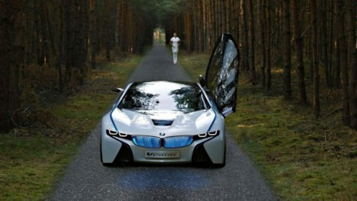 OFICIAL: BMW Vision EfficienctDynamics, concept hibrid revolutionar13967