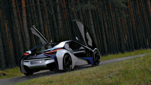 OFICIAL: BMW Vision EfficienctDynamics, concept hibrid revolutionar13974
