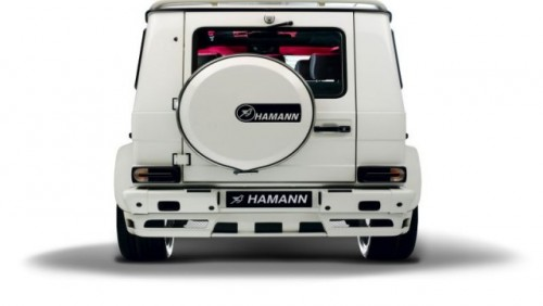 Mercedes G55 AMG, preparat de Hamann!13927