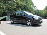 Drive-test  VW Touran Trendline si Touran Cross13908