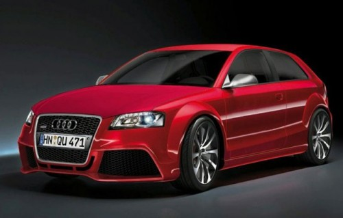 Audi RS3 parcheaza pentru prima data la Frankfurt13759