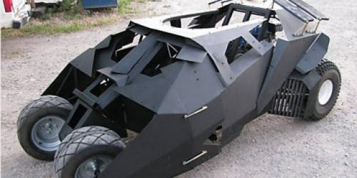 VIDEO: Cum se construieste un Batmobile?13545