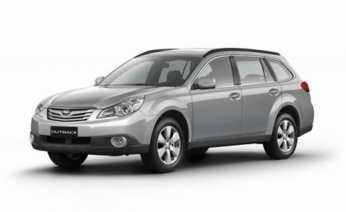 Subaru Legacy si Outback debuteaza la Frankfurt13351