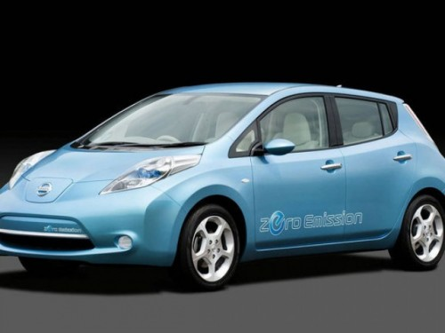 Nissan a prezentat modelul electric Leaf13187