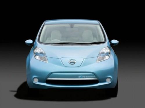 Nissan a prezentat modelul electric Leaf13188