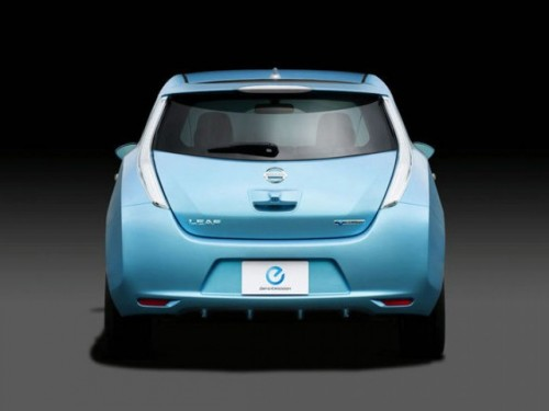 Nissan a prezentat modelul electric Leaf13189