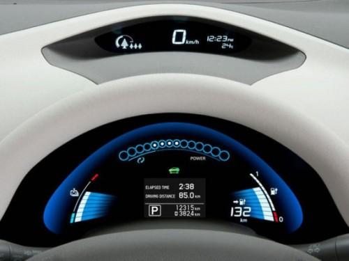 Nissan a prezentat modelul electric Leaf13192