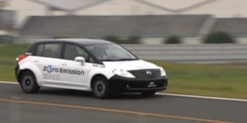 VIDEO: Modelul electric Nissan EV13143