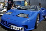 VIDEO: Bugatti EB110 distrus in Moscova12849