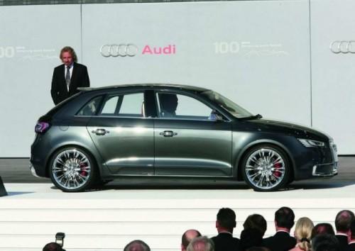 Audi A1 intra pe scena12807