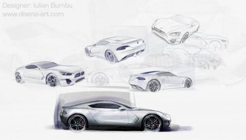 Un roman a desenat viitorul BMW Seria 612803