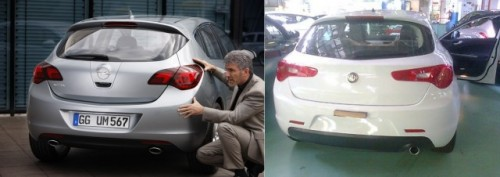 Alfa Romeo Milano, un Opel Astra clonat?12749